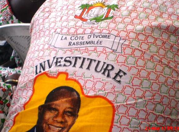 Investiture du Président Ouattara à Yamoussoukro