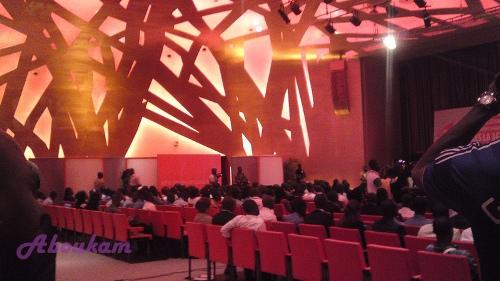 Crédit photo Abukm.  Le palais des congrès de l'Hotel Ivoire Abidjan