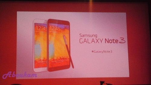Crédit photo Abukm - Diapo de présentation SamsungGalaxyNote3