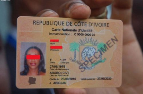 Article : Côte d'Ivoire: la carte nationale d'identité ne suffit pas !