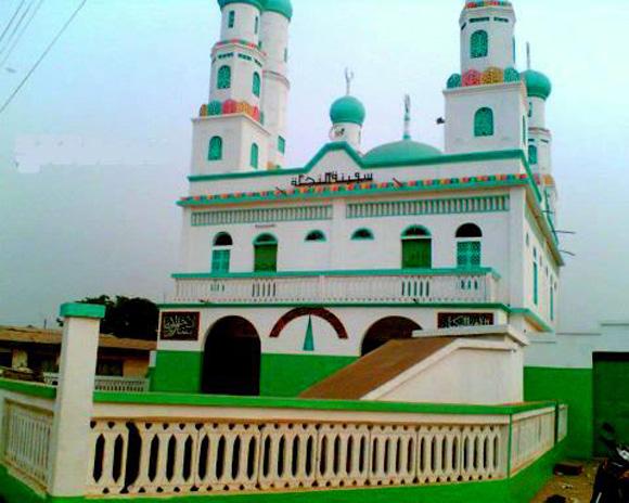 La Grande mosquée-de l'Imam Koudouss de Bondoukou