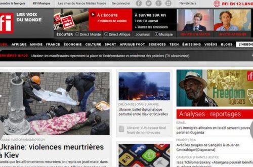 Article : Technologie web : le nouveau site de RFI encore plus orienté vers le web participative.