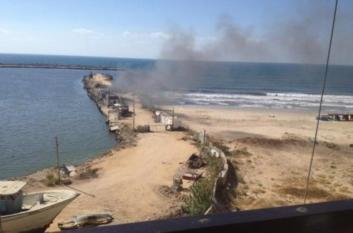 Article : Bombardements sur Gaza