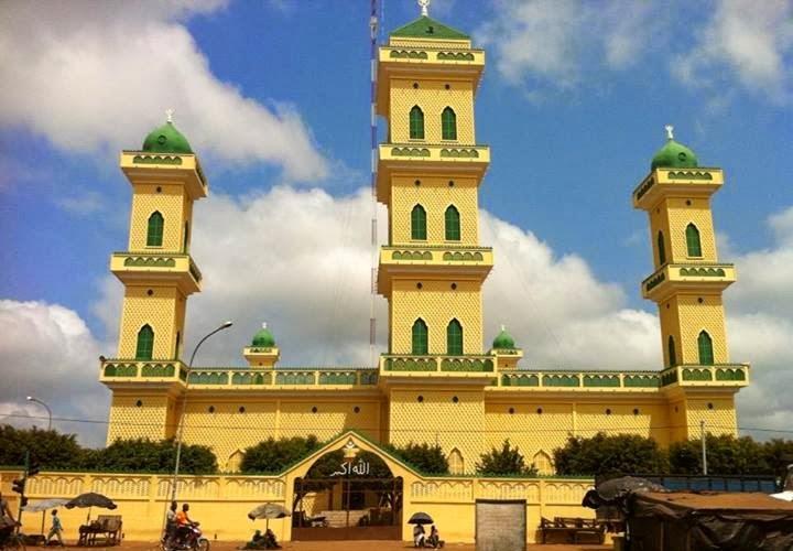 Mosquée-Daloa-Côte d'Ivoire