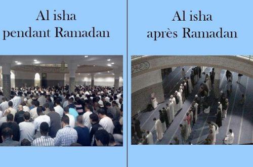 Article : Le ramadan : et après
