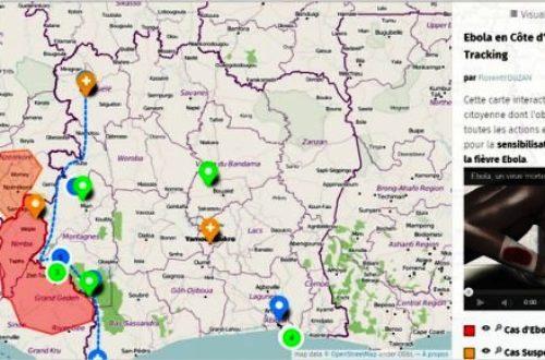 Article : Côte d'Ivoire – Ebola : une carte interactive de prévention et de géolocalisation
