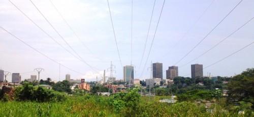 Réseau electrique de la CIE d'Abidjan plateau le centre des affaires