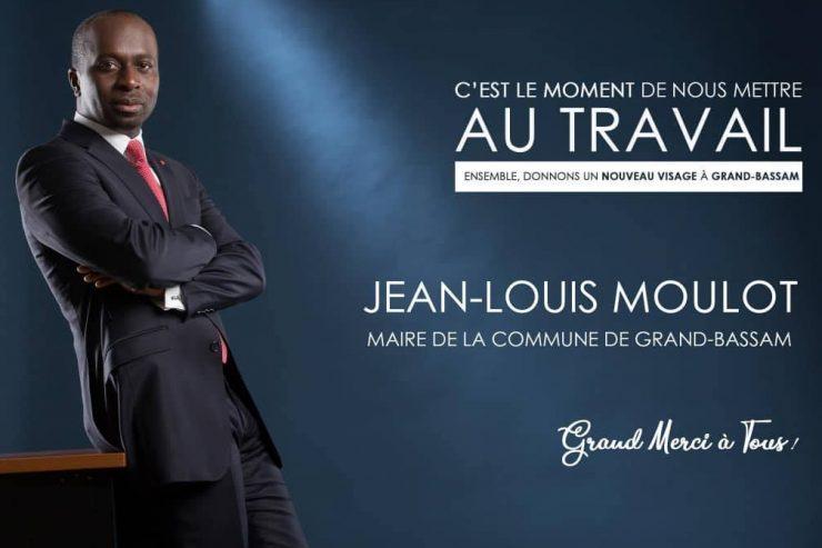 Qui est M. Jean-Louis MOULOT, le nouveau maire de la ville historique de Grand-Bassam